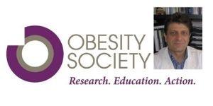 Angelo Pietrobelli premiato dalla Società Americana Studio Obesità - 5.11.2020